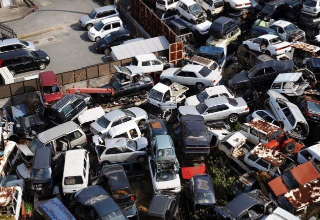 廃車、解体は福島市の星自動車商会