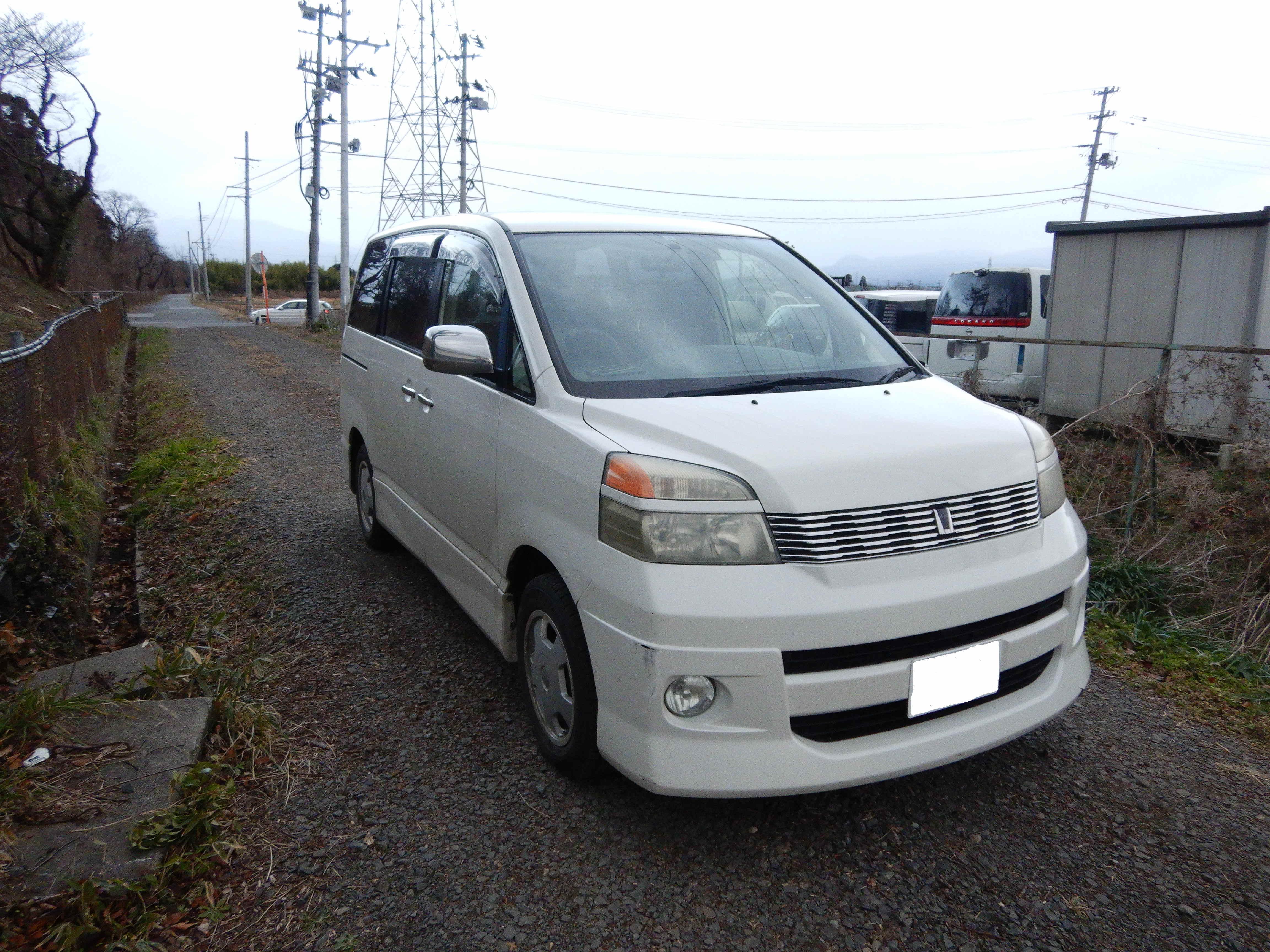 トヨタ ヴォクシー 廃車・輸出向け車両