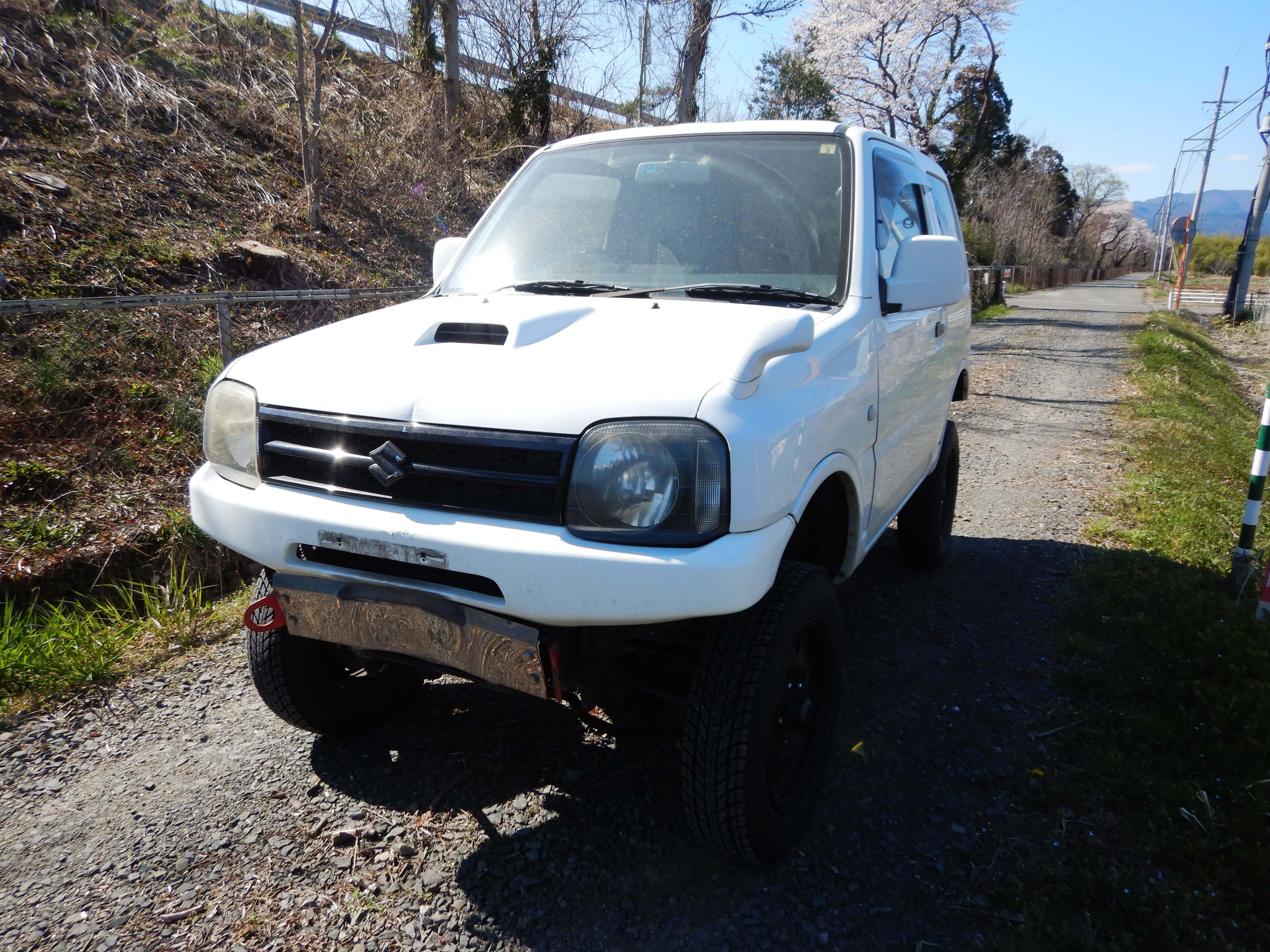 スズキ ジムニー4WD XG 廃車 解体車