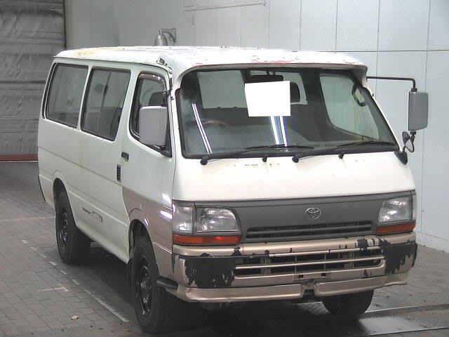トヨタ ハイエースV 廃車 解体車 輸出向け車両