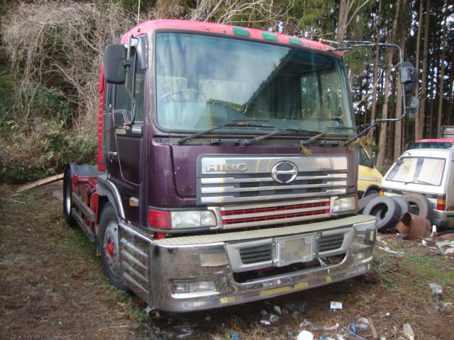 日野 プロフェア トラクター 廃車 解体車 輸出向け車両 トラック