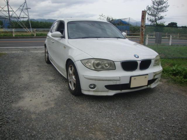 BMW 118i 廃車 解体車 輸出向け車両