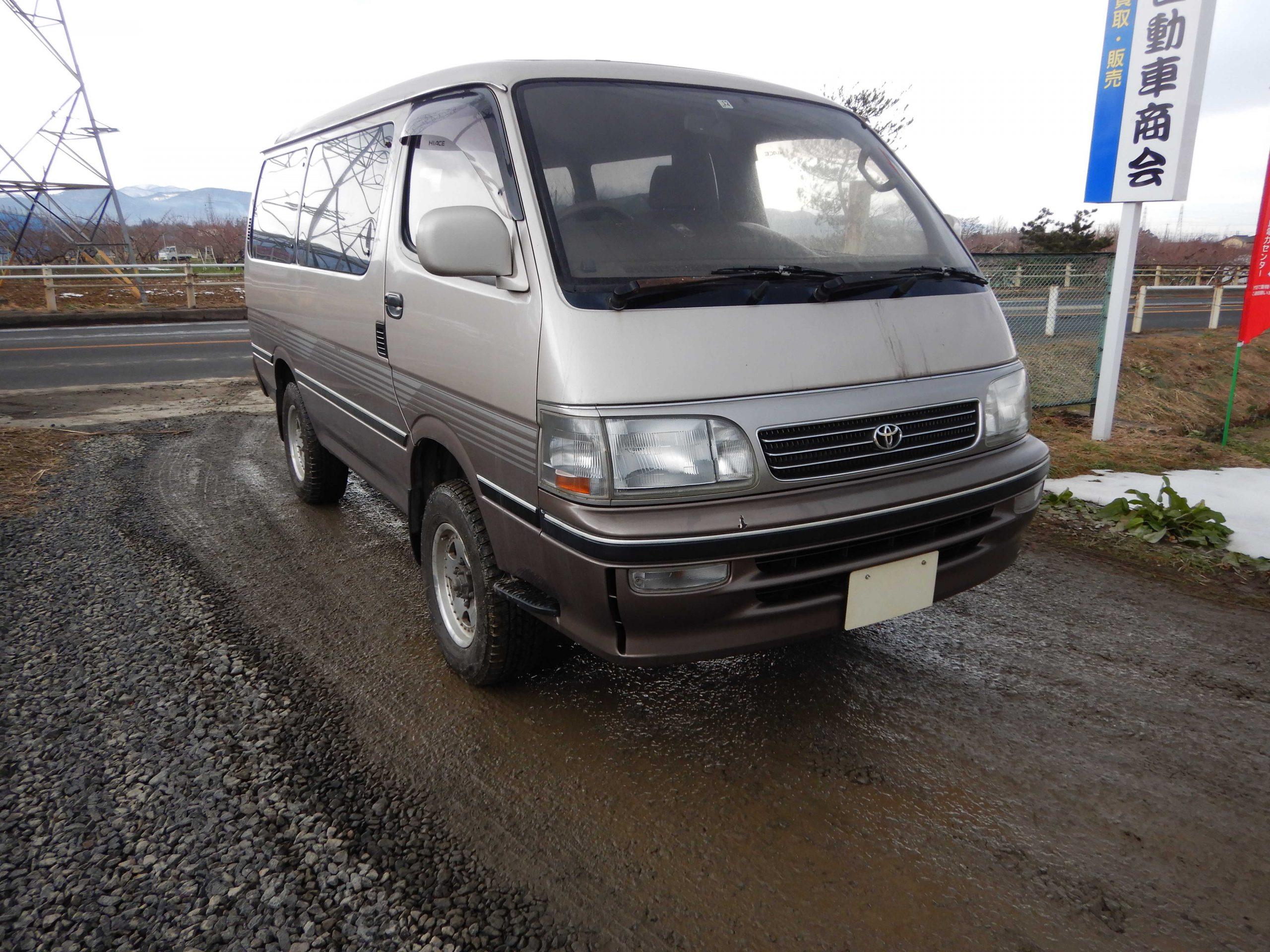 トヨタ ハイエース 廃車 解体車 輸出向け車両