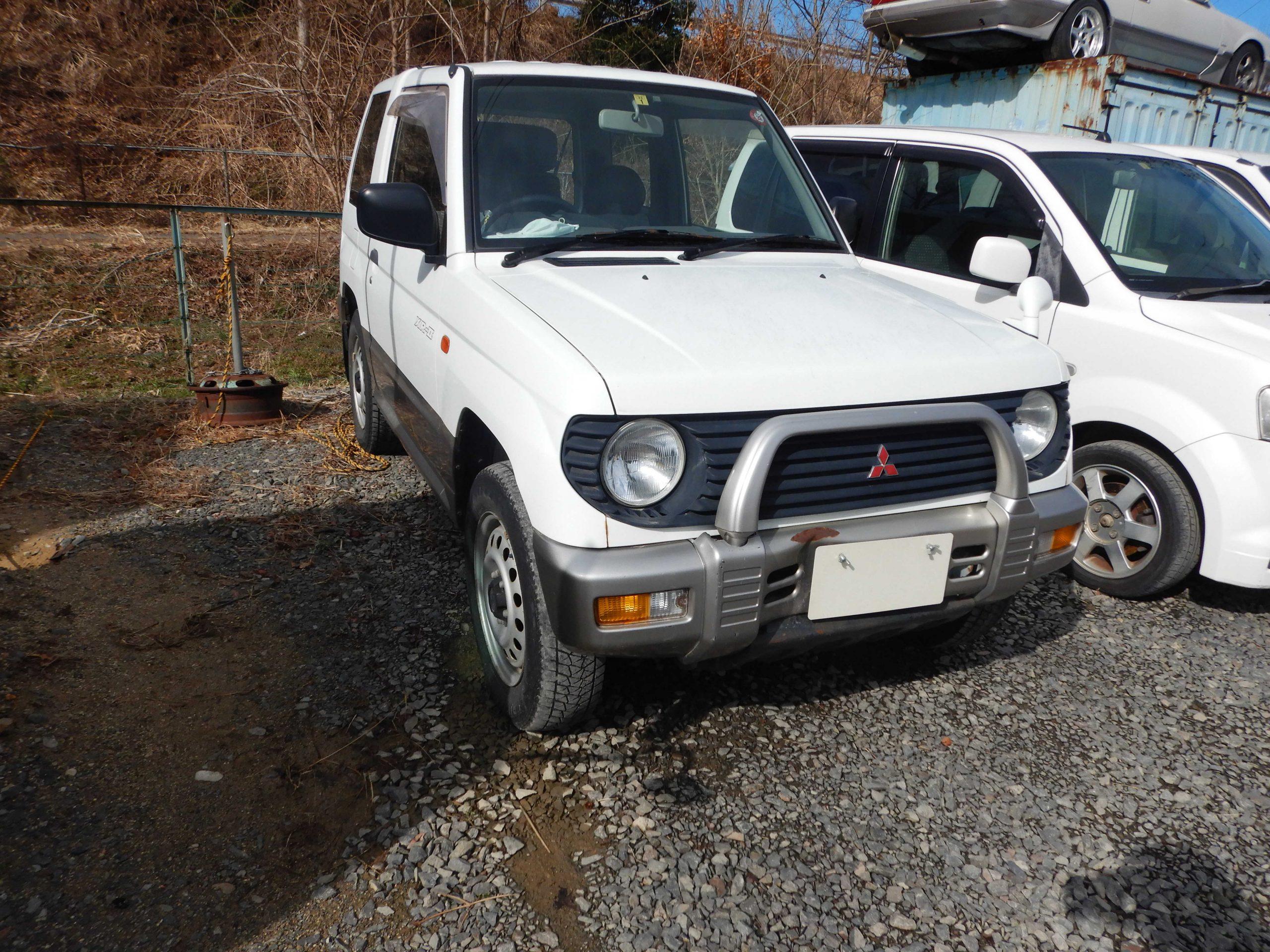 福島市 三菱 パジェロミニ 廃車 解体車 輸出向け車両