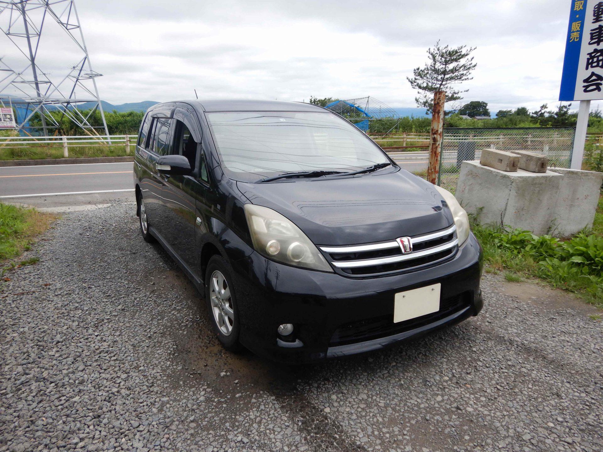 福島市 トヨタ アイシス 廃車 解体車 輸出向け車両